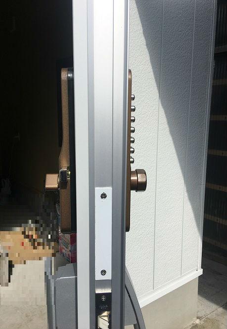 ドアの側面